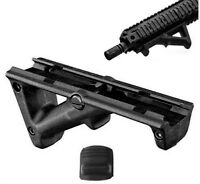 Angled Foregrip Black 4.75 Front Hand Guard Front Grip Picatinny Quad Rail Q13