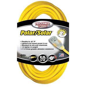 Coleman 1689-0002 30.5m Rallonge Cordelette Yellow 614eaLnW-07190842-450246364