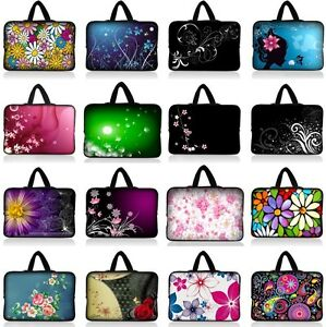 NEW-FLOWER-UNIVERSAL-10-INCH-10-1-034-10-2-034-TABLET-NOTEBOOK-CARRYING-BAG-COVER-CASE