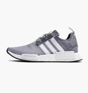 sports shoes 7b425 3456b Image is loading Adidas-NMD-R1-x-BEDWIN-GREY-WHITE-BB3123-