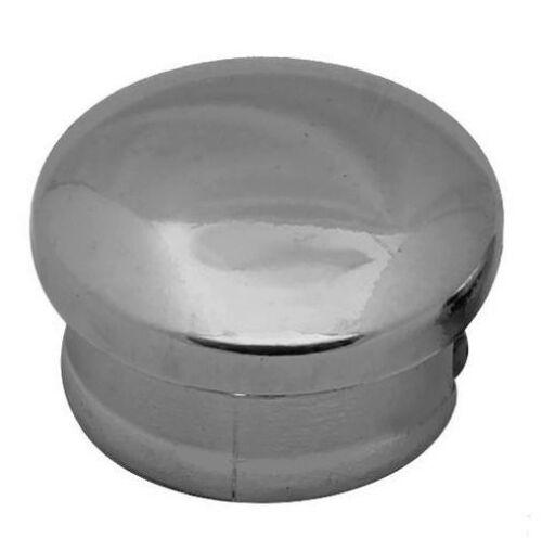 10 Chrom Rohrstopfen Lamellenstopfen Rohrkappen Endkappen  Rohrverschluss 52172