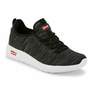 Levi-039-s-Mens-Apex-KT-Casual-Rubber-Sole-Knit-Fashion-Sneaker-Shoe