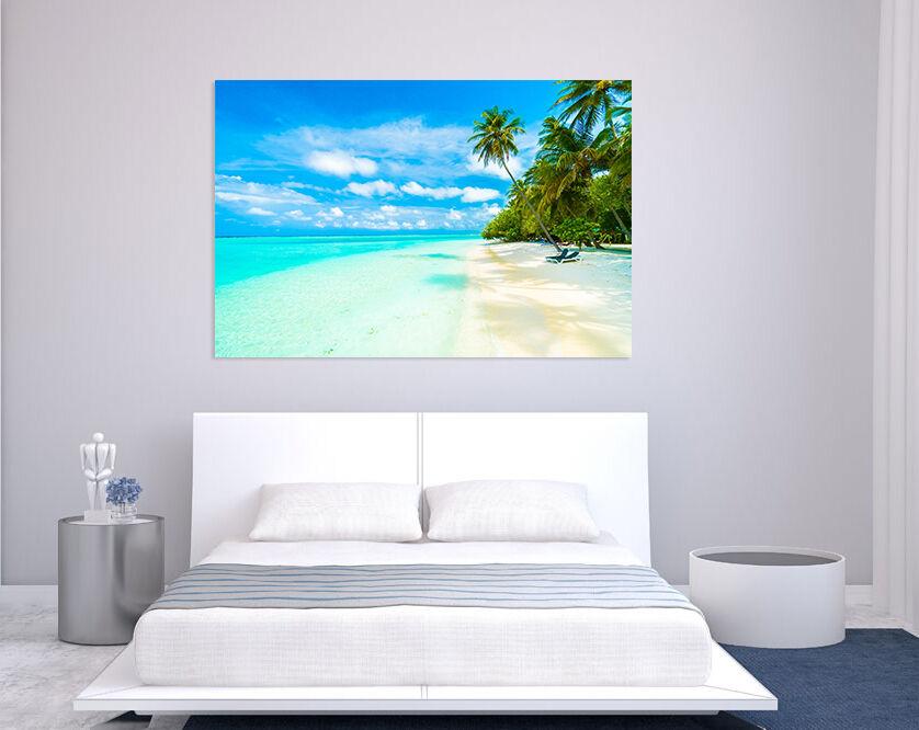 3D Meer, Insel 745 Fototapeten Wandbild BildTapete Familie AJSTORE DE