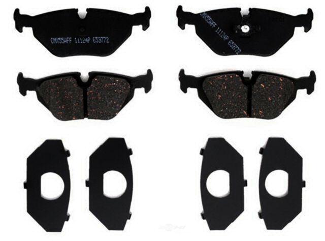 Disc Brake Pad Set-Ceramic Rear ACDelco Pro Brakes 17D1544CH