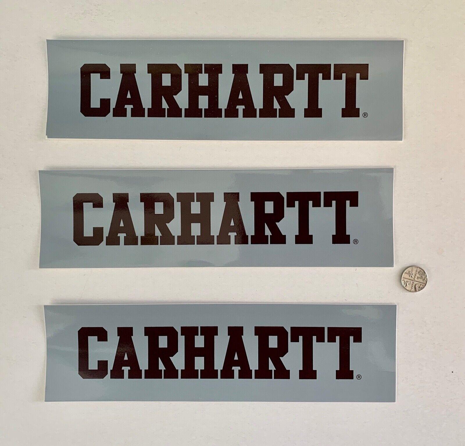 CARHARTT WIP STICKER SET X 3, Black