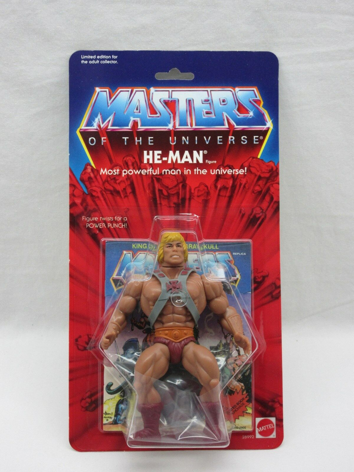 MOTU,Commemorative HE-MAN,figure,MOC,sealed,Masters of the Universe,He Man