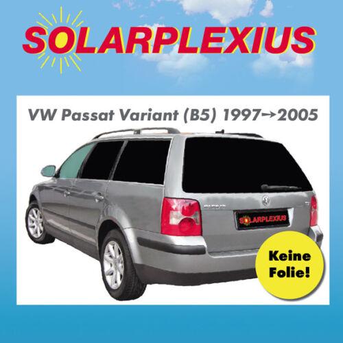 AUTO protezione solare vetri-tonalità parasole VW Passat Variant b5 BJ 97-05