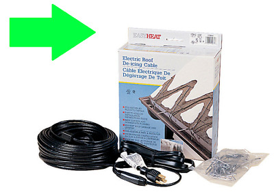 Adks Easy Heat Roof Gutter De Icing Ice Snow Melter Cable