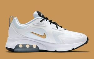 Nike-Air-Max-200-Mens-US-8-5-UK-7-5-AQ2568-102-Running-Trainers-Sneakers-Shoes