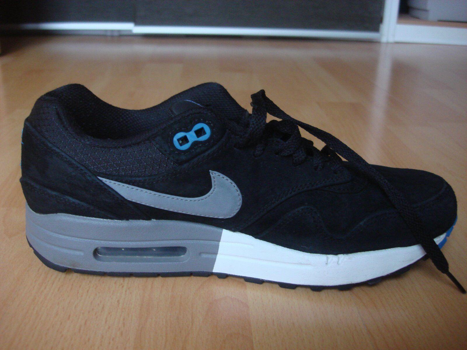 Nike Air Max 1 Sneaker PRM Premium 512033 Schwarz 004 Sneaker 1 0b882b