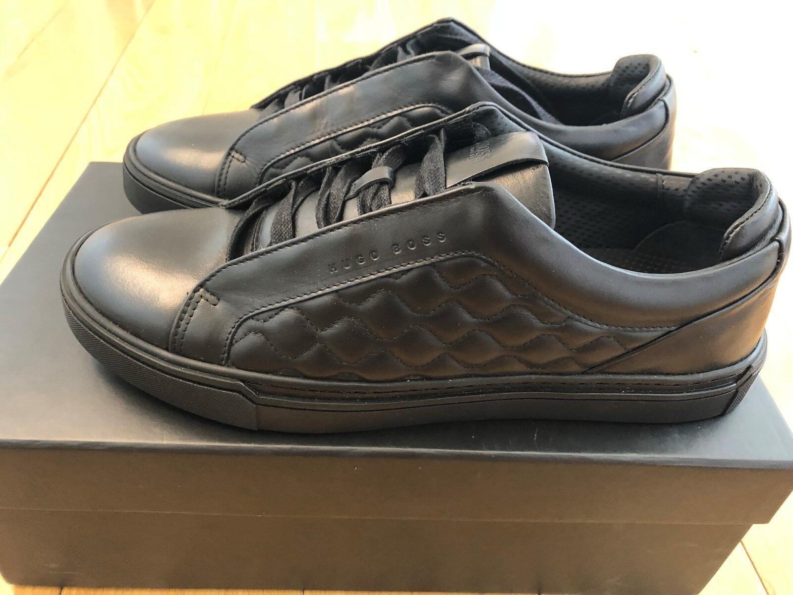 6060955e4589 100% Authentic Hugo Boss Men s Calf Leather Trainers US 9 rrp 320. Christian  Louboutin ...