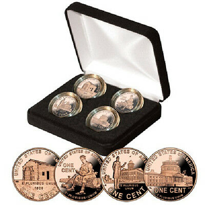 2009 Lincoln Proof Cent Penny Collection in Gift Box with COA