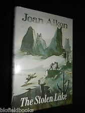 SIGNED: John Aiken - The Stolen Lake - 1981-1st - Historical Fantasy Fiction HB