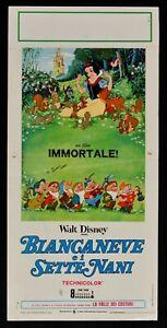 Plakat Schneewittchen E I Sieben Zwerge Walt Disney Die Valle Der Castor Karton