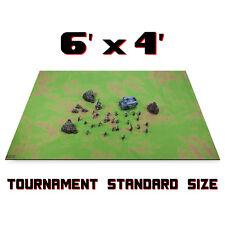 6' x 4' Open Field Neoprene Battlemat,