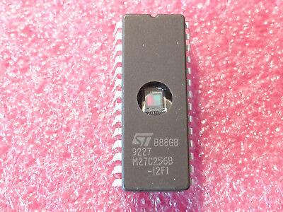 2PCS M27C2001 M27C2001-12F1 IC EPROM UV 2MBIT 120NS 32CDIP
