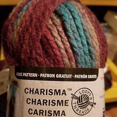 Dragonfly Loops/&Threads Charisma bulky yarn lot of 2 109 yds each