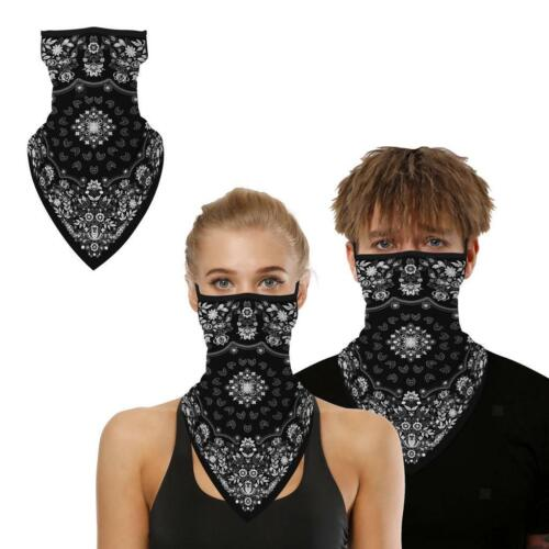 Sports de cyclisme en plein air cou couverture accrocher oreille triangle masque