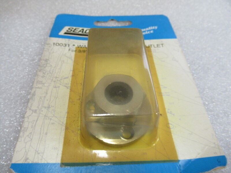 """SEACHOICE Watertight Cable Wire Outlet 3//8/"""" Waterproof Pass Thru Outlet SCP10031"""