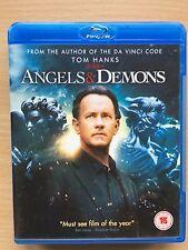Tom Hanks Ewan McGregor ANGELS AND DEMONS ~ 2009 Dan Brown Thriller | UK Blu-ray