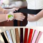Women SATIN Fancy Dress Party Wedding SASH Waist Band Tie Belt Bow Bridesmaid
