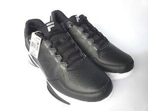 df75d08d8c20 Fila Mens Torranado 4 Low Black and Grey Sz 11.5 Basketball shoe New ...