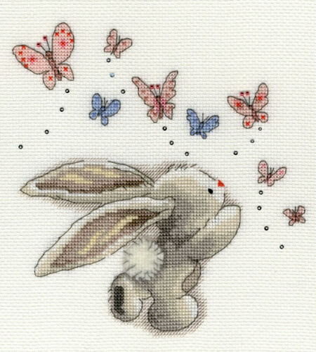 Bothy Threads ~ Counted Cross Stitch Kits ~ Bebunni ~ Bunny Rabbit
