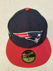 newest website for discount meet New Era 59Fifty Size 7 3/8 New England Patriots Fitted Cap ...