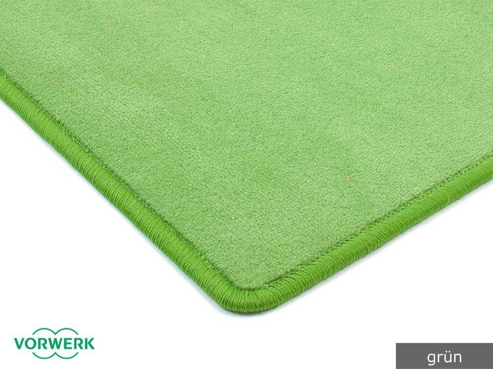 Bijou Uni grün grün grün Läufer 080x425 cm von Vorwerk ed4345