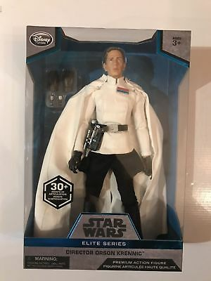 10in Disney Store Star Wars Elite Series Director Orson Krennic MIB