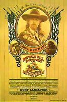 Buffalo Bill & Indians Rare Advance One Sheet Movie Poster 1976 Paul Newman