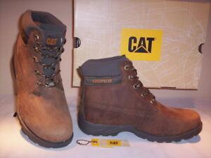 Chaussures-desert-boots-bottes-Caterpillar-garcon-fille-cuir-31-32-33-34-35