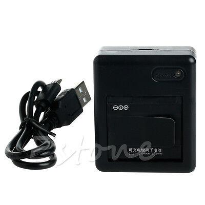 2Pcs 3.7V 1010mAh Li-ion Battery Power For Xiaomi Yi Xiaoyi Sports Action Camera