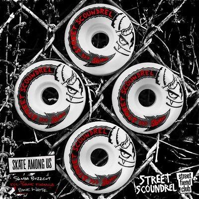 Street Plant Mike Vallely STREET SCOUNDRELS Skateboard Wheels 58mm 101a PINK