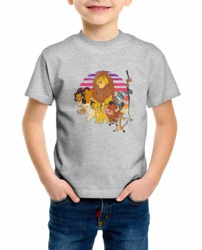 The Lion King Family Pride Children/'s Unisex Grey T-Shirt