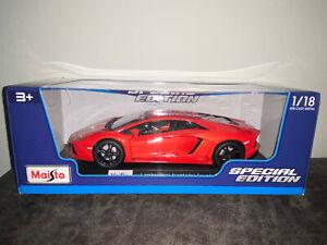 1-18-Maisto-escala-Diecast-Modelo-Coche-Lamborghini-Aventador-Coupe-nuevo