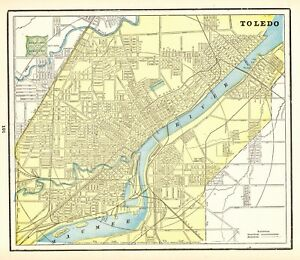 Details about 1895 Antique TOLEDO OHIO Map Vintage Collectible City on major cities of ohio, large maps of ohio, map of northeast ohio, zip code of ohio, state map of ohio, demographics of ohio, airports of ohio, map of northern ohio, emergency services of ohio, weather of ohio, driving map of ohio, map of cincinnati ohio, sights of ohio, simple map of ohio, ward map of ohio, topographic map of ohio, us state map ohio, water of ohio, index of ohio, mineral map of ohio,