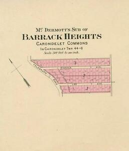 Missouri Map of Barrack Heights, Missouri - St. Louis County, Mo ...