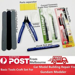Basic-Tools-Craft-Set-Car-Model-Building-Repair-Fix-Kit-For-Gundam-Modeler-Tool