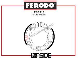 FERODO-FSB915A-GANASCE-FRENO-ANTERIORI-PIAGGIO-50-ZIP-1992-gt-1996