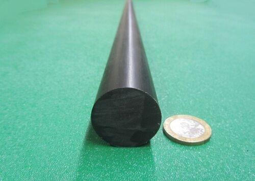"Black 1 1//8/"" 1.125/"" Dia x 60/"" Length Acetal Delrin POM Round Rod"