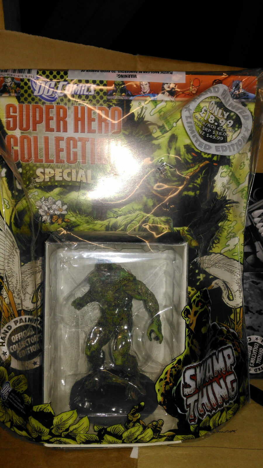 NEW Eaglemoss, DC Figurine Collection, Special Issue 18  Swamp Thing RARE