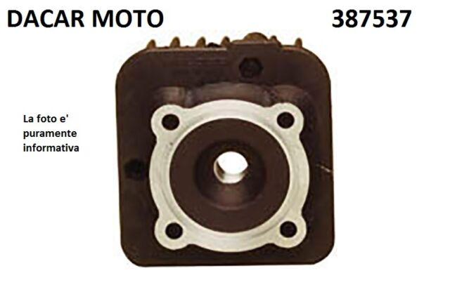 387537 TÊTE 47,6 aluminium AIR HTSR MHR MALOSSI PIAGGIO FERMETURE ÉCLAIR 50 2T <