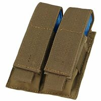 Condor Coyote Brown Ma23 Molle Double Stack Pistol Magazine Tool Pouch Holster