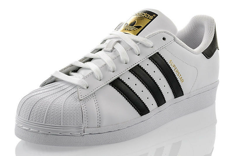 SCHUHE ADIDAS SUPERSTAR FOUNDATION WEISS HERREN EXCLUSIVE SNEAKER C77124 SALE