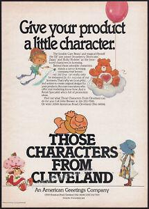 TCFC__Original 1983 Trade AD / poster__STRAWBERRY SHORTCAKE__ZIGGY__HOLLY HOBBIE