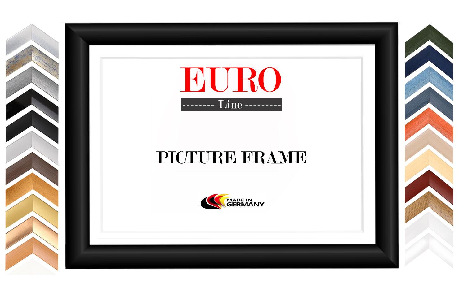 EUROLINE50 Bilderrahmen 70x66 cm oder 66x70 cm mit entspiegeltem Acrylglas