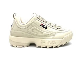 Details about FILA Sneakers Disruptor Low Antique White 1010262.00y- show  original title