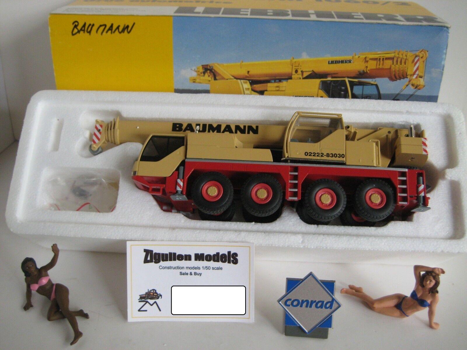 Liebherr LTM 1060-2 autokran baumann  2094.43 Conrad 1 50 50 50 OVP e1045e