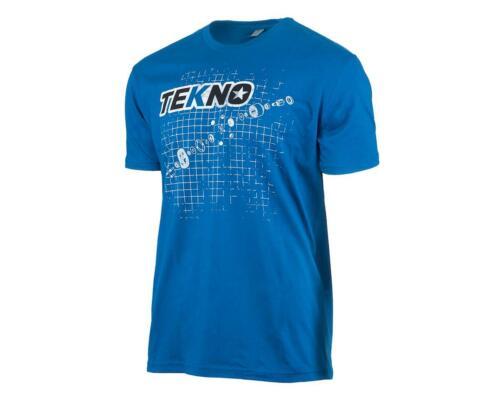 Dark Blue TKRTS07L Tekno RC Diff Blueprint T-Shirt L